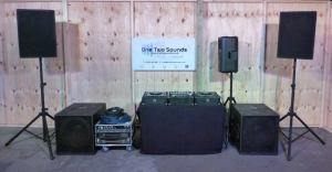 DJ Package 1 - 2,400w PA - 350w Monitor