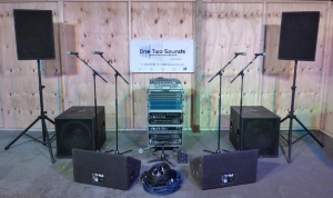 Live Package 2 - 2400w PA - 800w monitors
