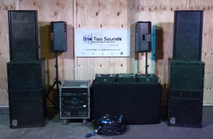 DJ Package 2 - 4,400w PA - 800w Monitors