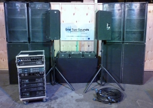 DJ Package 3 - 6,800w PA - 800w Monitors
